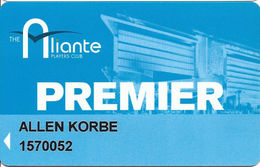 Aliante Casino - Las Vegas, NV - Slot Card - Casino Cards