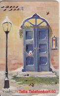 SWEDEN(chip) - Blue Door, Red CN : C4A147121, 09/94, Used - Sweden
