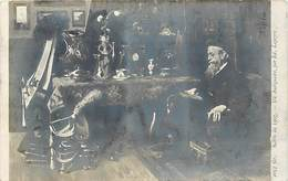 Tableaux -ref A563- Illustrateurs -illustrateur - Arts -peinture-tableau -peintre Ed Lapeyre -antiquité -un Antiquaire - - Commercio