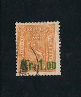 25.06.1905 Freimarke Michel 62 Gestempelt O - Norwegen