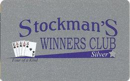 Stockman's Casino - Fallan, NV - Slot Card (BLANK) - Casino Cards