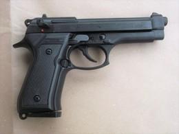 Beretta M92 Auto Replica Vintage A Salve Kimar Eccellente Con Scatola E Certificato - Armi Da Collezione