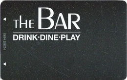 The Bar / Casino - Las Vegas, NV - BLANK Local Pub Slot Card - Casino Cards