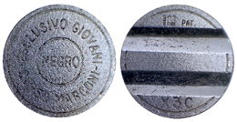 03574 GETTONE JETON TOKEN ARCADE MACHINE SALA NEGRO MMC MAGGI CONIATURE - Casino
