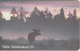 SWEDEN(chip) - Reindeer, CN : C58152729, 07/95, Used - Sweden