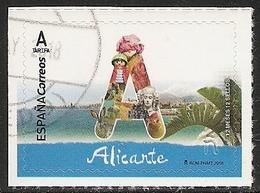 2018-ED. 5190 - 12 Meses, 12 Sellos. Alicante -USADO - 2011-... Ungebraucht