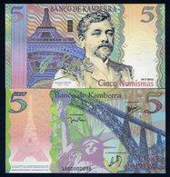 Kamberra, Kingdom, 5 Numismas, 2012, UNC > Eiffel - Billets
