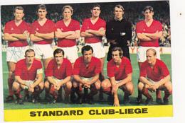 Standard Club-Liège - Autógrafos