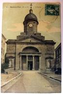 Badonviller - L'Eglise - Carte Colorisée - Autres Communes