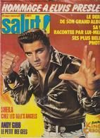 SALUT ! - N° 66 DU 09 AU 15.08.78 -  ELVIS PRESLEY  ETC ... - 4.50 € FRAIS PORT COMPRIS POUR LA FRANCE - Muziek