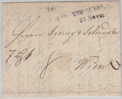 Österreich - Budweis (L2) A. Brief N. Wien 1841 - Mit Inhalt - Österreich