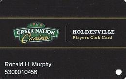 Creek Nation Casino - Holdenville, OK - Slot Card - Casino Cards