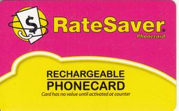 NEW ZEALAND - RateSaver, CardCall/New Zealand Post Recharge Card, Mint - New Zealand