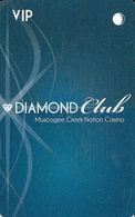 Creek Nation Casino - Muscogee, OK - BLANK VIP Slot Card - Casino Cards