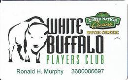 Creek Nation Casino - Duck Creek, OK - Slot Card - Casino Cards