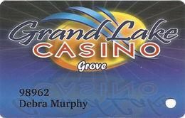 Grand Lake Casino - Grove, OK - Slot Card - Casino Cards