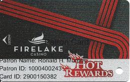FireLake Casino - Shawnee, OK - Slot Card - Casino Cards