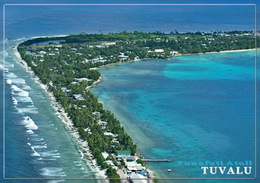 Lot 4 Postcards - Tuvalu Islands Funafuti Atoll Vaiaku South Pacific Ellice Islands - Tuvalu