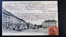CPA  CROATIE KOPRIVNICA JELACICEV TRG Animée Ecrite Circulée - Croatia
