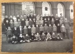 Photo Ancienne (moyenne). Groupe: École. Pas De Date. (17 Cm X 12 Cm) - Anonymous Persons