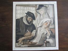 PUBLICITE MEDICALE LITHOGRAPHIE DE JEAN DROIT LE MEDECIN SOUS HENRI IV - Advertising