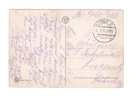 01494 Feldpost 1917 Gand - Covers & Documents