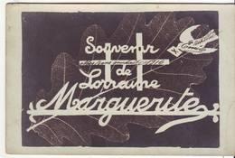 Cpa  Souvenir De Lorraine - Guerra 1914-18
