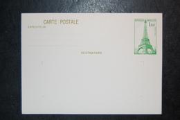 FRANCE - Entier Postal TOUR EIFFEL 1,60 VERT - YT N° 429 CP1 - Entiers Postaux