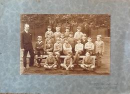 Photo Ancienne (moyenne) Groupe: École. Pas De Date. (17cm X 115cm) - Anonymous Persons