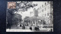 CPA  EGYPTE Cairo Hotel D Angleterre LE CAIRE Animée Ecrite Circulée - El Cairo