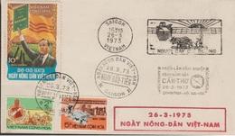 S.VIETNAM  1973  CACHET CAN THO /  FDC  PRES.NGYUEN VAN THIEU   Réf  73 SS - Viêt-Nam