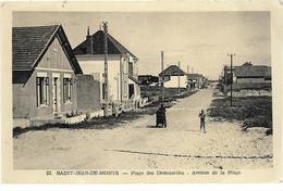 85 SAINT JEAN DE MONTS Plage Des Demoiselles Avenue De La Plage - Saint Jean De Monts