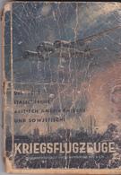 Rare Livret Allemand Sur La Détection Et Repérage Des Avions Anglais,Italien,Américain,Soviétique - 1939-45