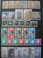 MONACO 1976-1989 COT. 107 EUR MNH** 2 SCANS - Monaco