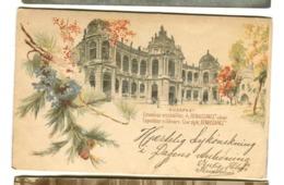BUDAPEST Gruss Aus  Expo Millénaire Cour Style RENAISSANCE Env. 1900 - Ungarn