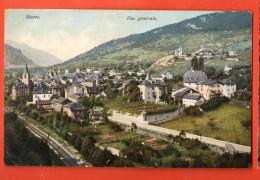 HCE-11 Sierre , Vue Générale, Ligne Du Simplon, Circulée, Timbre Manque. Rossier 8361 - VS Valais