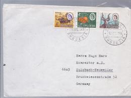 Rhodesien - Zimbabwe - Mischfrankatur  - (89745) - Zimbabwe (1980-...)