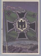 Fahnen Und Standarden Der Deutschen Wehrmacht  - Gebirgsjäger  - (89746) - Ausrüstung