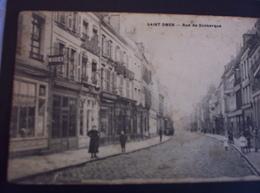 Saint Omer - Rue De Dunkerque Plan Peu Courant. - Saint Omer