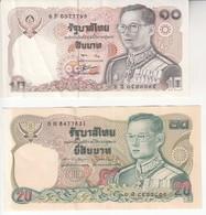 2192   THAILAND 10--  20   BAHT - Tatarstan