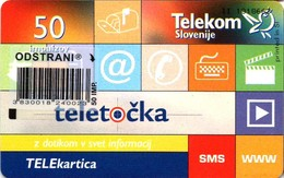 Not Used - Teletočka Phone Card. Col: SI-TLS-0436 - 50 Units. - Slovenia