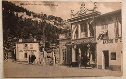 Ventimiglia Grimaldi E Piazzale Dogana Italiana - Imperia