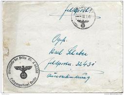 "16-100  -   Enveloppe ""Feldpost 1943"" - 2. Weltkrieg"