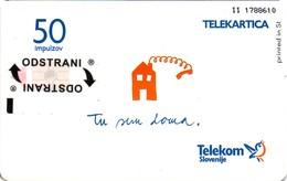Not Used - Phone Card Tu Sem Doma. Col: SI-TLS-0467 - 50 Units. - Slovenia