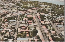 CPSM TCHAD FORT LAMY Vue Aérienne Timbre 1964 - Tschad