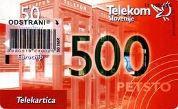 Not Used - Phone Card Jubilee 500 Telecard. Col: SI-TLS-0500 - 50 Units. - Slovenia