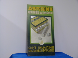 "Plaque Carton ""ASPIRINE"" - Paperboard Signs"