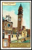 LIEBIG - FR - 1 Chromo - Série/Reeks S 1185 - Tours Penchées: Venise. - Liebig