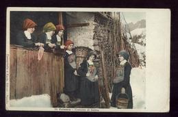 IN VALSESIA - SABBIA - FRAZIONE DI VARALLO (VERCELLI) - COSTUME - INIZI 900 - Vercelli