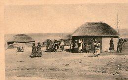(65)  CPA Lesotho Basutoland  On S'habille Avec Des Couvertures De Laine  (bon Etat) - Lesotho